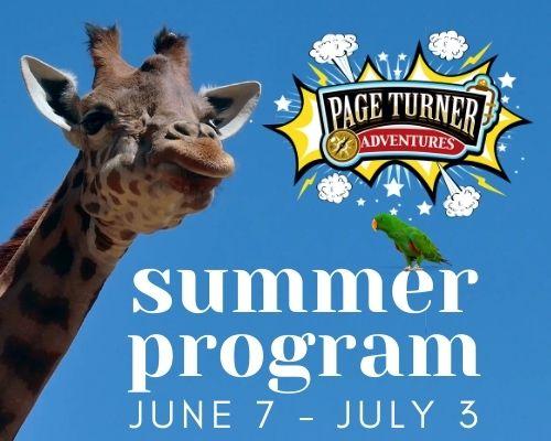 Page Turner Adventures program June 7 through July 3
